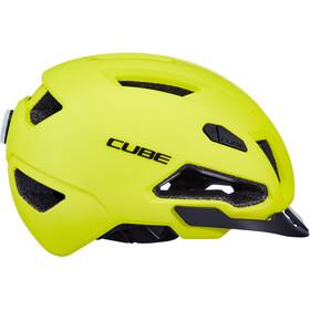 Cube Evoy Hybrid Casco, yellow
